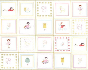 Sew Stitchy Collection - Novelty Stitchettes Panel - Multi by Aneela Hoey - Moda