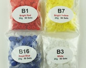 200 KAM Snaps Plastic/Resin for Diapers/Bibs/Cloth/Poppers/KAM Snap (You Choose 4 Colors) Ships from USA