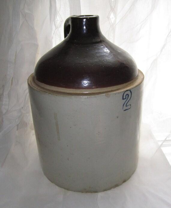 GIVEAWAY - Antique 2 Gallon Crock Jug