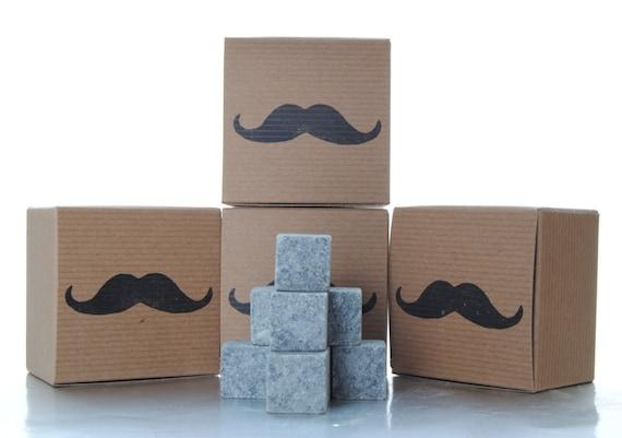 Rock your Wedding with Polar Stones 7 pc. Groomsmen Whiskey Stones Gift Set - Groomsmen Gift - Gifts for Groomsman - usher gift - best man