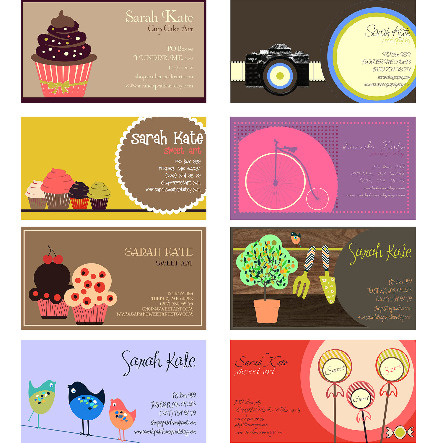 Business Card Digital Graphic Design for Your Profession Craft