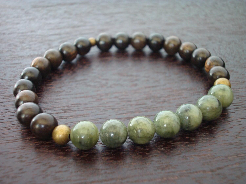 s jade mala bracelet protection prosperity mala