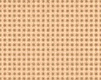 Spooktacular - Distressed Dot in Pumpkin - Maude Asbury for Blend Fabrics- 1/2 yard