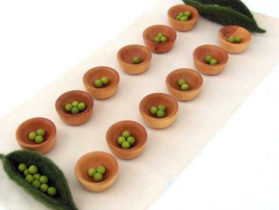 Items similar to peas in a pod mancala game and craft kit for Peas in a pod craft