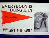 1900 PERRY Oklahoma Risque POSTCARD