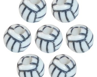 60 Volley Ball Beads