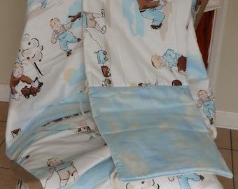 Baby Quilt & Bumper Set