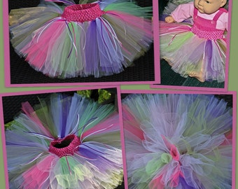 Tutu,photo prop,colorful,baby,girl, 3 months to 12 months,gift