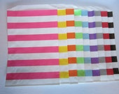 Striped Party Bags ~ Favor Bags ~ Goodie Bags ~ Cookie Bags ~ Dessert Bags