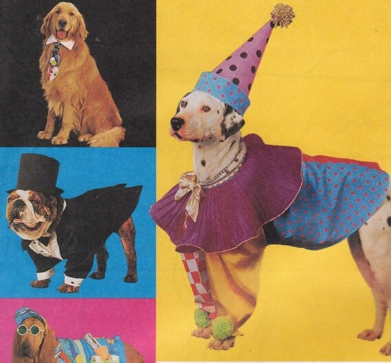 Dog Costume Pattern McCalls 7286 Uncut