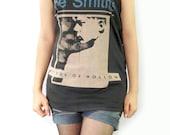THE SMITHS Hatful Of Hollow Alternative Rock Indie Pop Shirt Women Tank Top Vest Tunic Tank Black Sleeveless Singlet Rock T-Shirt Size M