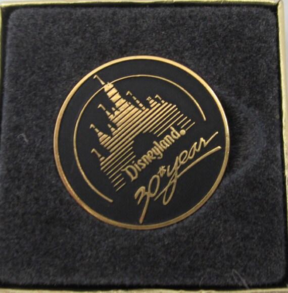 30 year Commemorative  Disneyland Coin c1985