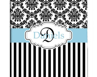 Custom Damask Shower Curtain Personalized