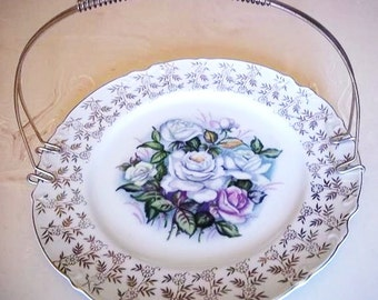 Rose Plate with Handle