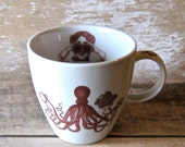 Mug Steampunk Octopus Cephalopods Squid