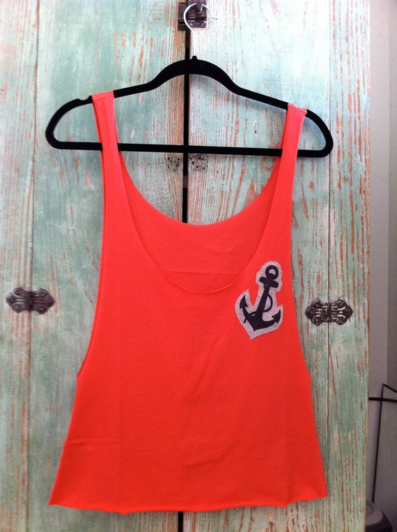 Anchor Cut Out Tank Top / Adult
