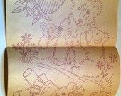teddy bear, panda bear, bear embroidery transfer, vintage