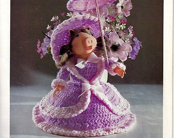 Crochet Charmers a Charming Doll Collection Crochet pattern book MM741