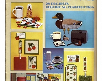 Easy Pieces in Plastic Canvas Pattern Leaflet  Leisure Arts 353