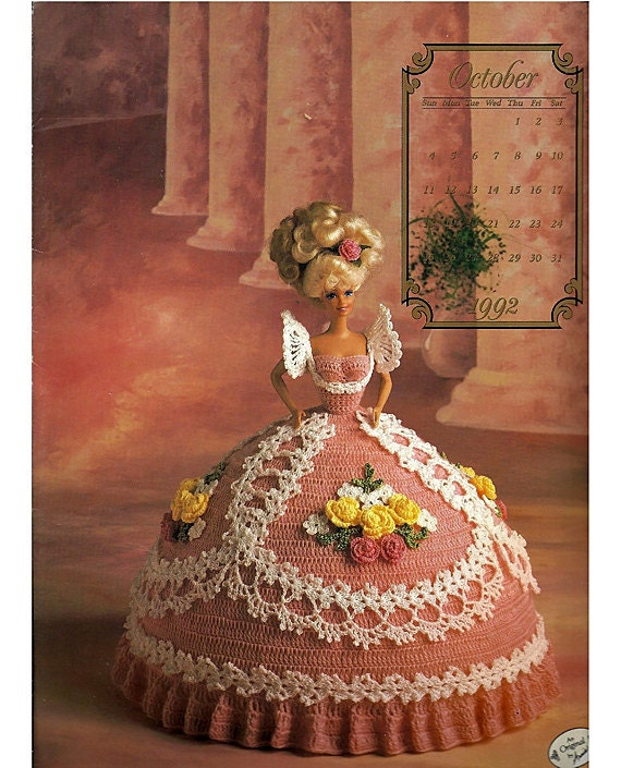 The Cotillion Collection Miss October 1992 Annies Calendar Bed