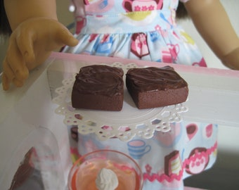 American Girl size Doll Brownies (2)