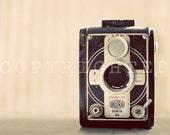 old vintage camera print