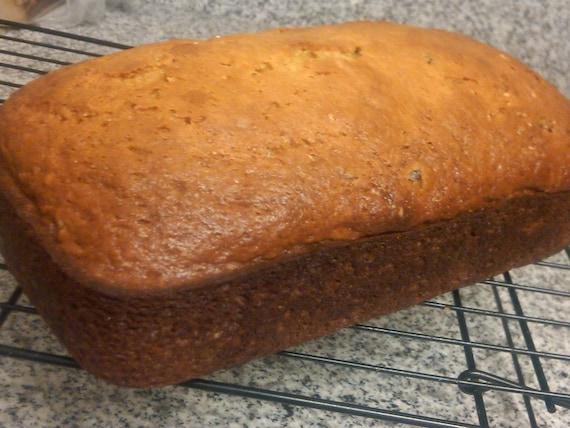 Low Fat Cranberry Orange Loaf Bread