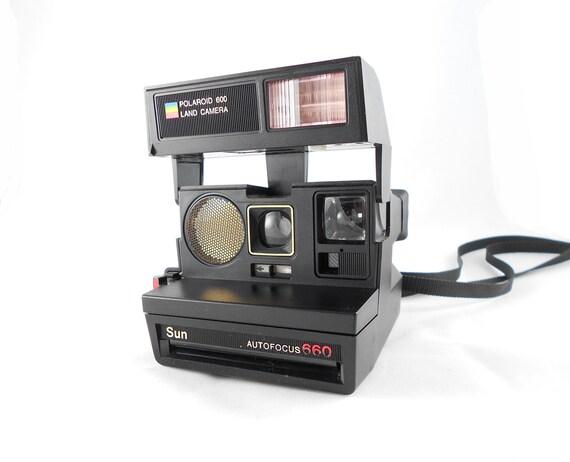 Vintage Polaroid Camera - TESTED -  Sun 660 Land Camera
