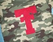 Texas Tech Shirt, Camouflage Texas Tech Shirt, Texas Tech baby, Boys Texas Tech