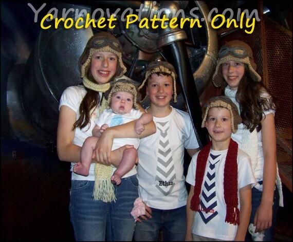 Pretend Play - Pilot - Crochet Aviator - Crochet Pattern