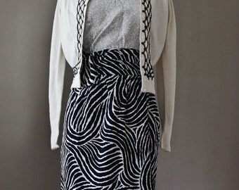 YSL 3 PIECE SET Authentic Yves Saint Laurent  - Silk Animal Print Zebra