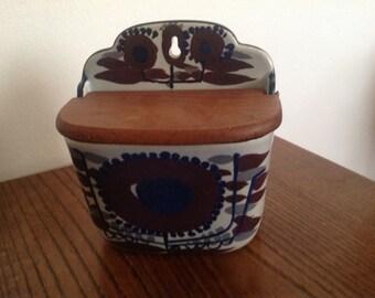 Vintage Royal Copenhagen salt box Denmark