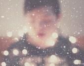 wonderment, snow, winter, dreamy, fine art photography