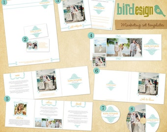 INSTANT DOWNLOAD - PhotographPre-made Marketing Set - E103