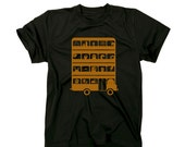 Monsters - T Shirt - Men - Stedman Classic Black and Gold Shirt  - Available in S, M, L, XL