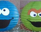 Sesame Street Paper Lanterns - Set of 4