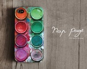 Apple iphone case for iphone iPhone 5 iphone 5s iphone 5c iphone 4 iphone 4s iphone 3Gs : Paint box