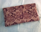 Floral Checkbook Cover for Women, Checkbook Cover, Women's Checkbooks and Accessories - LAST AVAILABLE