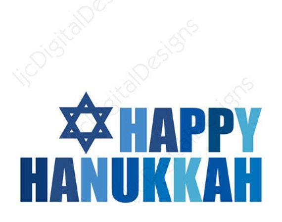printable hanukkah chanukah word art typography decoration card 11x14 and 8x10 on etsy - Hanukkah Decorations