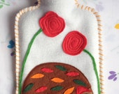 Hedgehog Hot Water Bottle Cover (with bottle too)