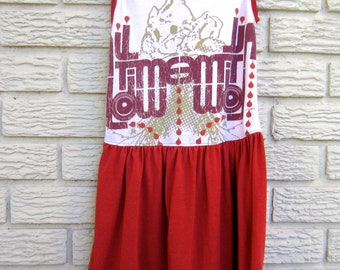 4T All Time Low Upcycled Sleeveless Dress