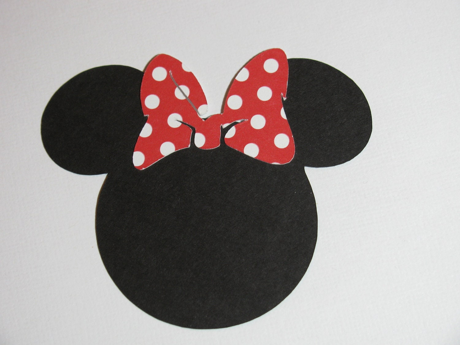 20 pack 2.5 Minnie Mouse ears with a bow DIY