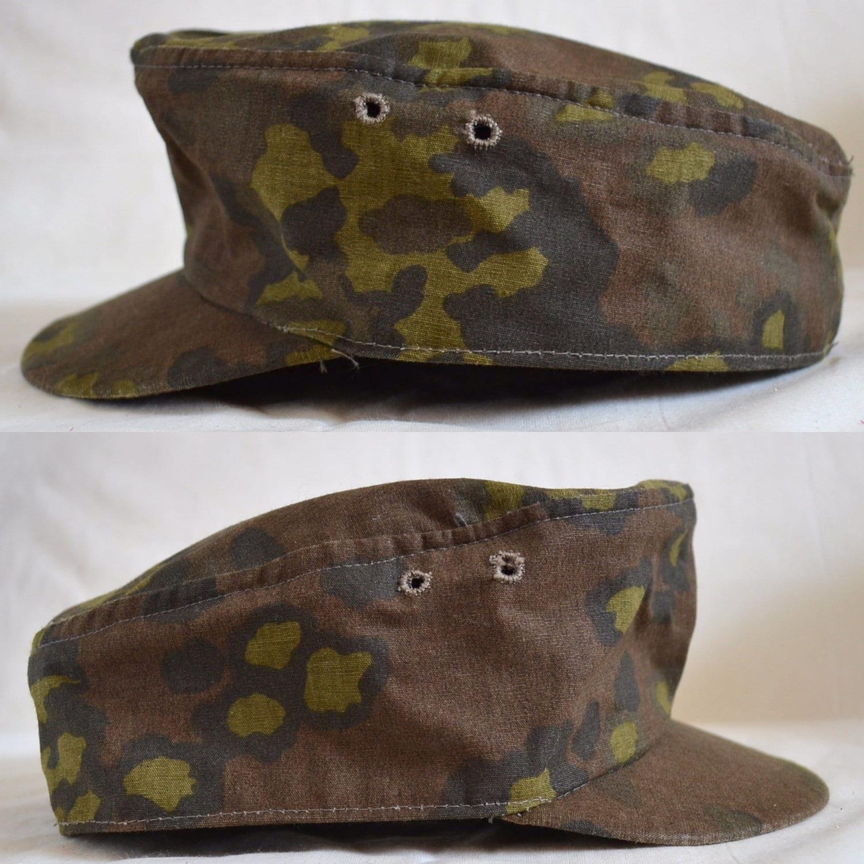 Vintage Military Hat. German Field Cap by VintageAndSupply ...