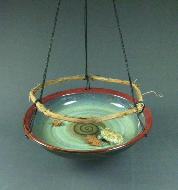 Birdbath Bird Feeder Pottery