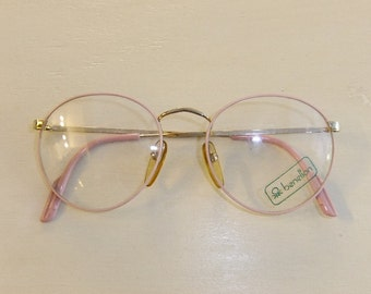 Vintage Pink Benetton Eyeglasses -- New Old Stock