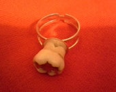 Poore mans tooth ring