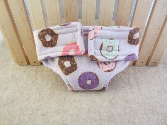 Baby Doll Diaper - Donuts - Size Large