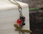 A Dark Version Of Nature Necklace