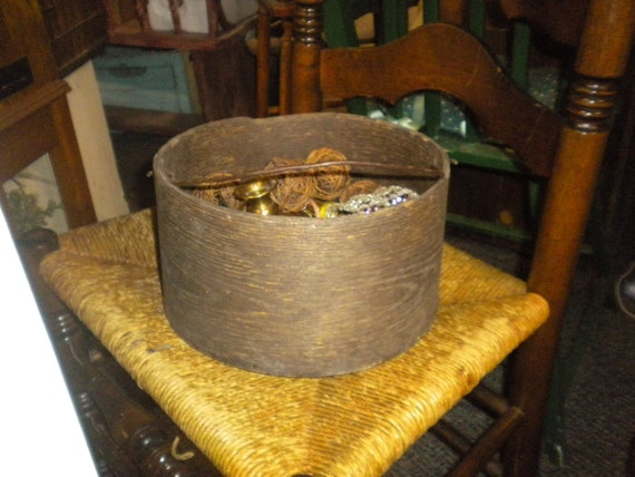 RESERVED For Becca till 3/28.....Vintage Grain Bucket,Primitive,Antique,Eclectic,Country