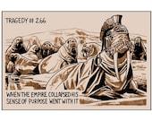 Tragedy 266: Walrus Empire Print